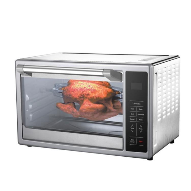 Smad Haushalt 28L Elektrische Brenner Mini Pizzaofen Mit Kochplatte