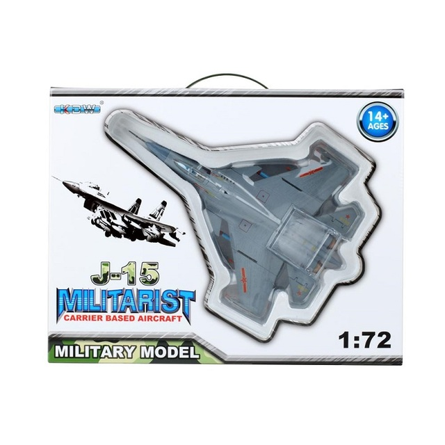 Details about  /1//72 Miniature J15 Carrier Aircraft Fighter Model Airplane Toy Playset Kids