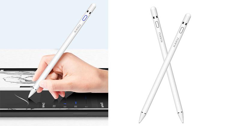 كاكو العالمي بالسعة القلم شاشة تعمل باللمس الحساسة غرامة نقطة قلم اللمس على الشاشة لباد مصغرة الهواء 2 برو 11 12.9 2018 2019