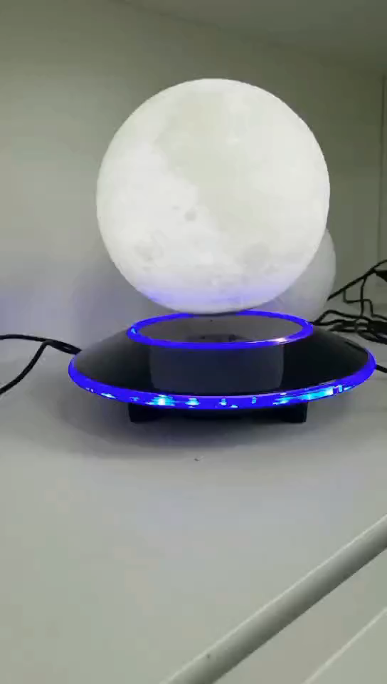 Rechargeable LED Night Light Moon Lamp 3D Print Moonlight Luna Bedroom Home Decor 16 Colors for Baby