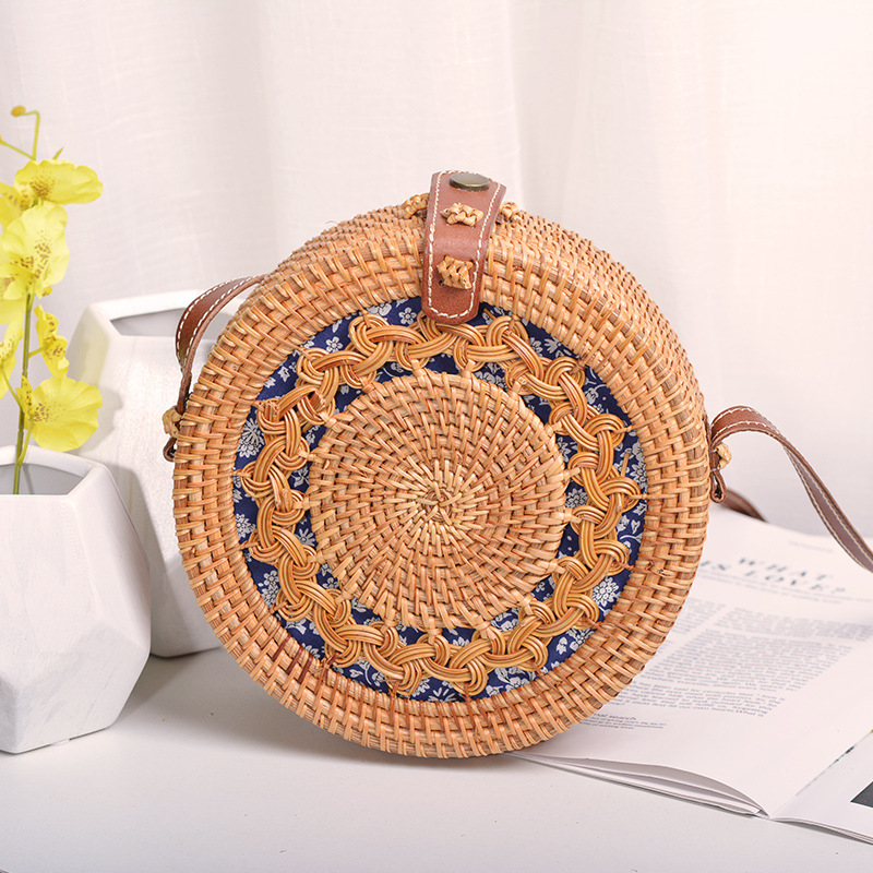 vietnam seagrass bamboo rattan weaving bag cheap price and good quality