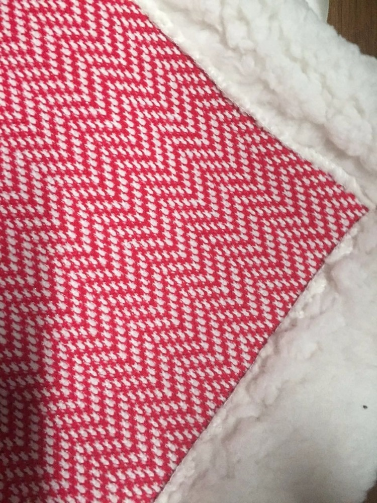 home textiles latest design 100% polyester solid sherpa coral fleece fabric