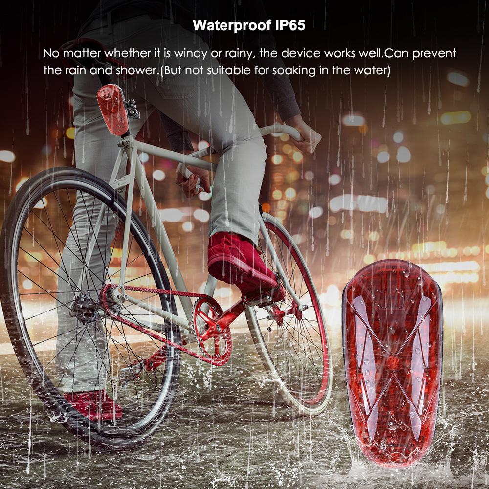 TK906 GPS Tracker Bike LED Light Hidden Design GPS Locator SOS low battery alarm Bicycle Tracking Device for Bike GPS Tracker