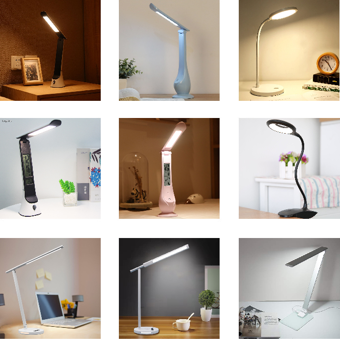 NEW ORIGINAL task lamp with clamp table clip stand for working