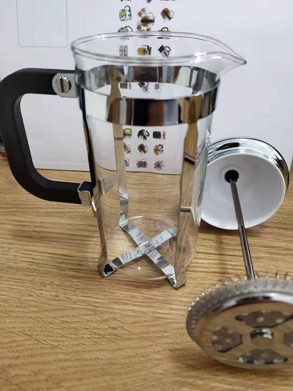 Bir Dingin Es Pembuat Kopi dan Teh, Stainless Steel Coffee Plunger French Press