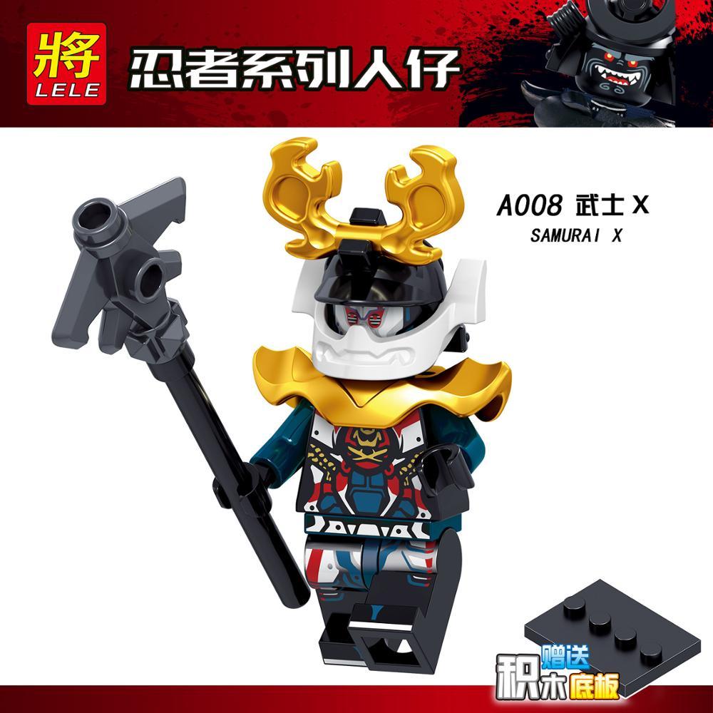 2019 совместимые наборы LegoINGlys NinjagoING, герои ниндзя, фигурки Kai, jay, Cole Zane Nya Lloyd с оружием, игрушки для детей(Китай)
