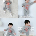 Wholesale Customize Baby Romper Long Sleeve 100% Cotton Children Clothing Fleece Romper Suits and Clothing Plush Warm for Winter