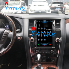 12.1 Inch Verticale Screen Android Muziek <span class=keywords><strong>Gps</strong></span> Navigator Betaler Voor-Nissan Patrol 2016-2019 <span class=keywords><strong>Gps</strong></span> Radio Toespraak Dvr functie Online Tv