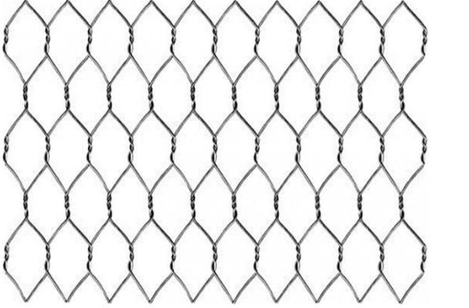 """Agujero tejido 3/4"""" del hexágono de la malla de las aves de corral de la malla de alambre del acero inoxidable del pollo de 20 GA"""