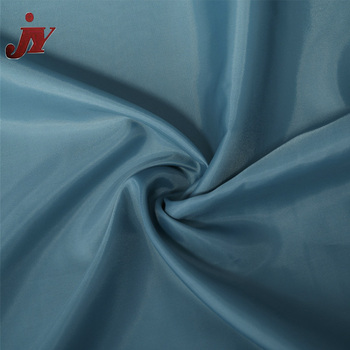 China Textile Factory 62-72T Density and 100% Polyester Material Waterproof Fabric Price Satin Fabric By The Yard
