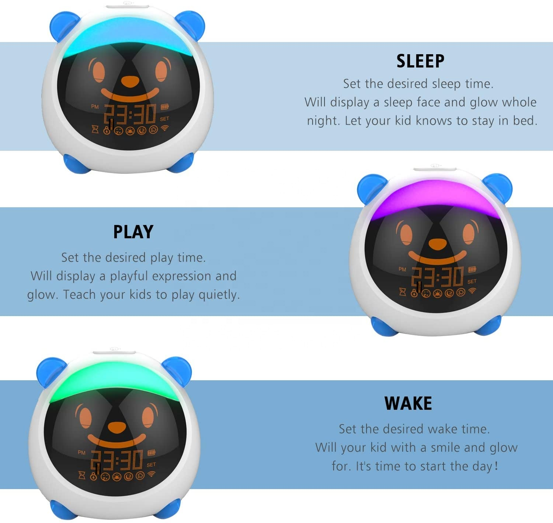 Kids Baby Sleep Trainer Alarm Gro-Clock Clock