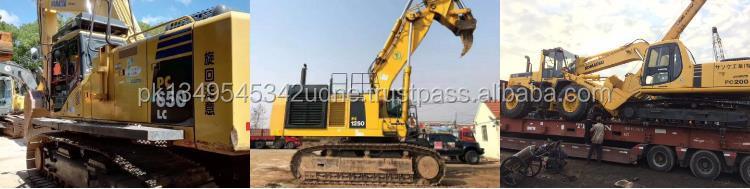 380 กก.อัตรากำไรจากน้ำหนักใช้ Komatsu Excavator PC01 MINI รถขุดคุณภาพดี