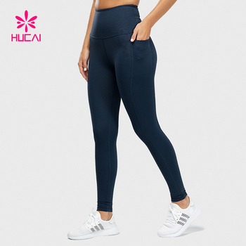 Wholesale Nylon Spandex Women Workout Squat Proof Athletic Leggings