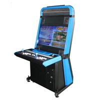 Metal cabinet coin operated games arcade machine with Pandora 3D