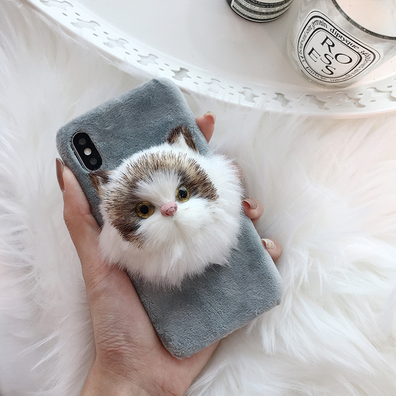 2020 new arrivals luxury cute cat phone case hard pc ultra slim phone case for iPhone 11 12 pro max