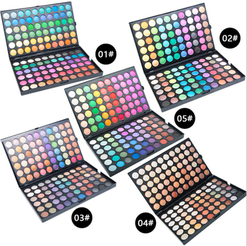 Factory Wholesale Makeup Cosmetics Big Giant Palette Matte Shimmer 120 Color Eyeshadow Palette
