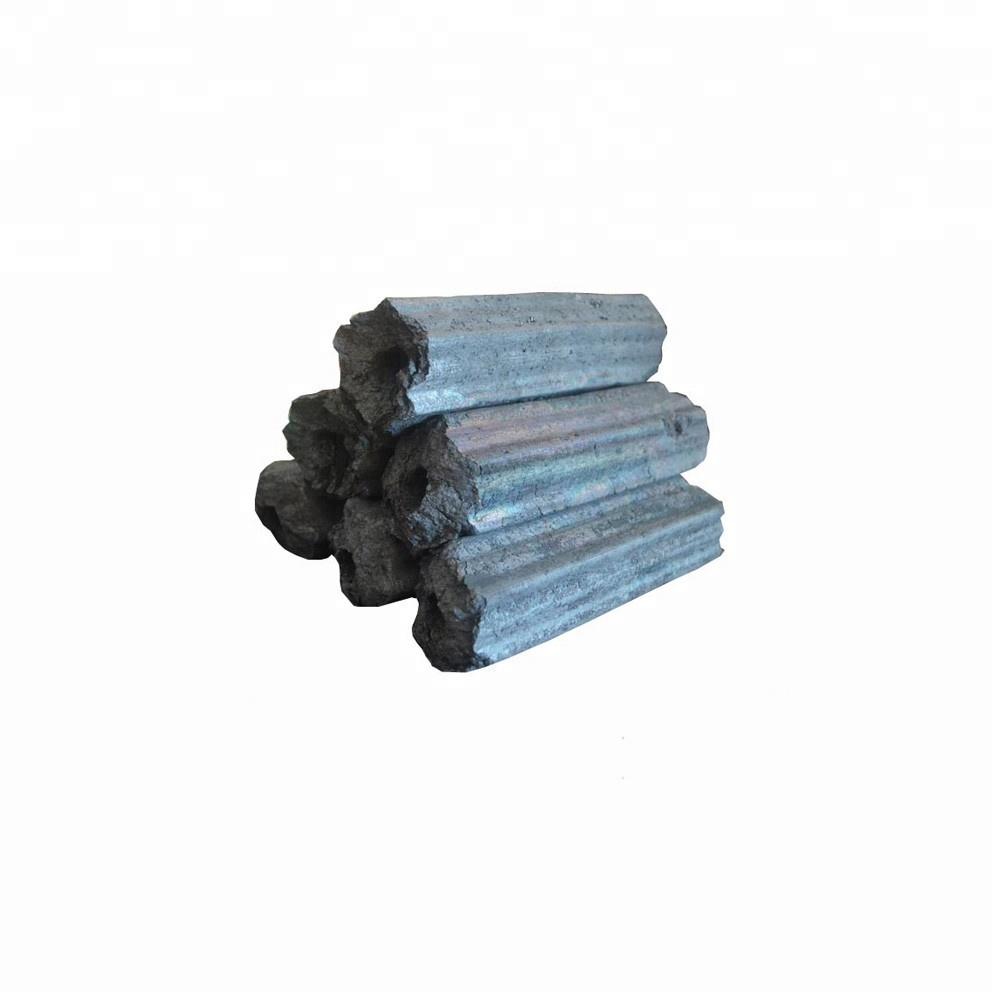 HQBQ0006 HongQiang Longer Burning Hexagonal Barbecue Cooking Wood Coal Wood Sawdust Charcoal