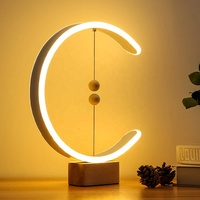 New Design C Shaped Heng Balance Lamp LED Mid-Air Magnetic Switch Lamp USB Smart Life Decoration for Bedroom OEM and ODM