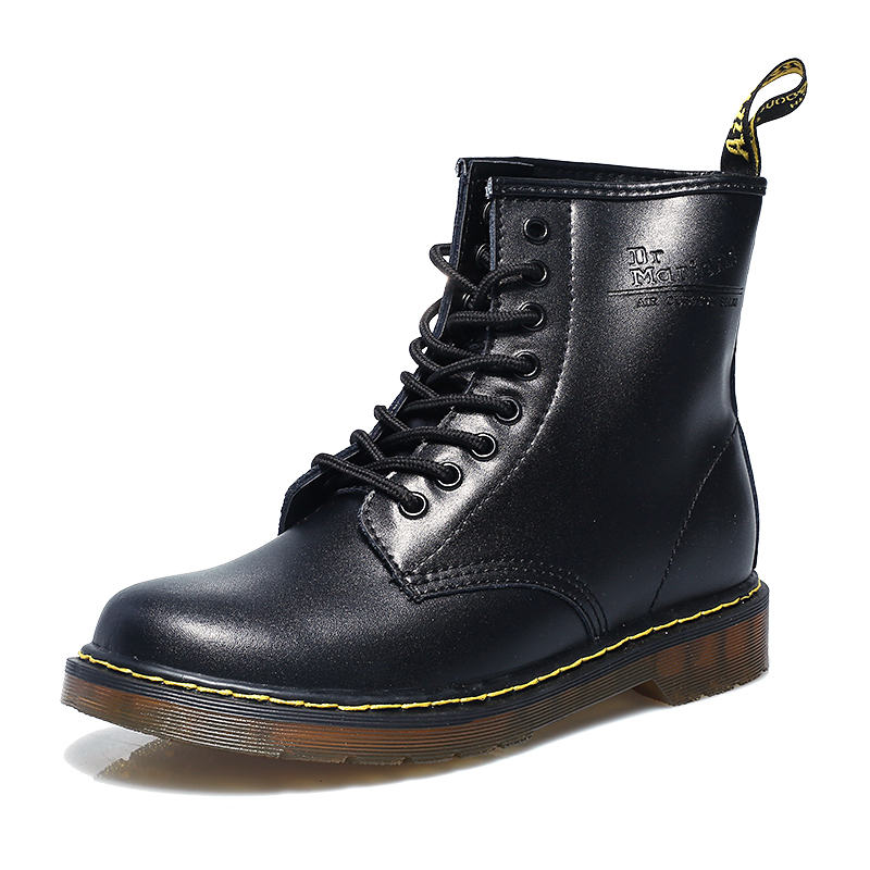 Original High Quality Mens Womens Dr 1460 Nappa 8 eyes Soft Leather Martens Boots