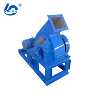 Wood Crusher Shredder - Grinding Wood Chips to Sawdust Machine for Wood Chip Production Line