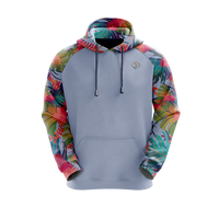 Custom dye sublimation private label pullover hoodie men with pockets wholesale for sale