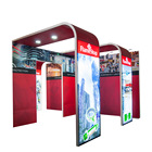good quality trade show booth exhibit display stage decoration backdrop stand