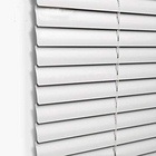 Factory alloy window interior exterior cordless venetian blinds 1 inch 25mm slats aluminum horizontal roller blinds