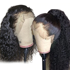 GS 360 Transparent Glueless HD Human Hair Lace Front Wigs, Straight 360 Frontal Full Lace Human Hair Wigs For Black Women