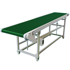 Plastic crusher sorting table adjustable height of production line multi-functional conveyor belt