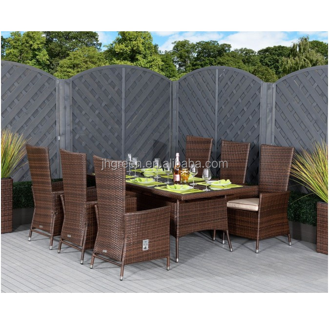 Wicker Square Dining Table Sets