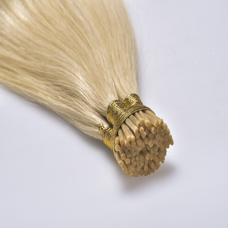Wholesale virgin russian i-tip extensions human hair