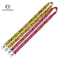 Factory Price Personalized Polyester Fashion Sublimation Printed Event Lanyard With Logo Custom