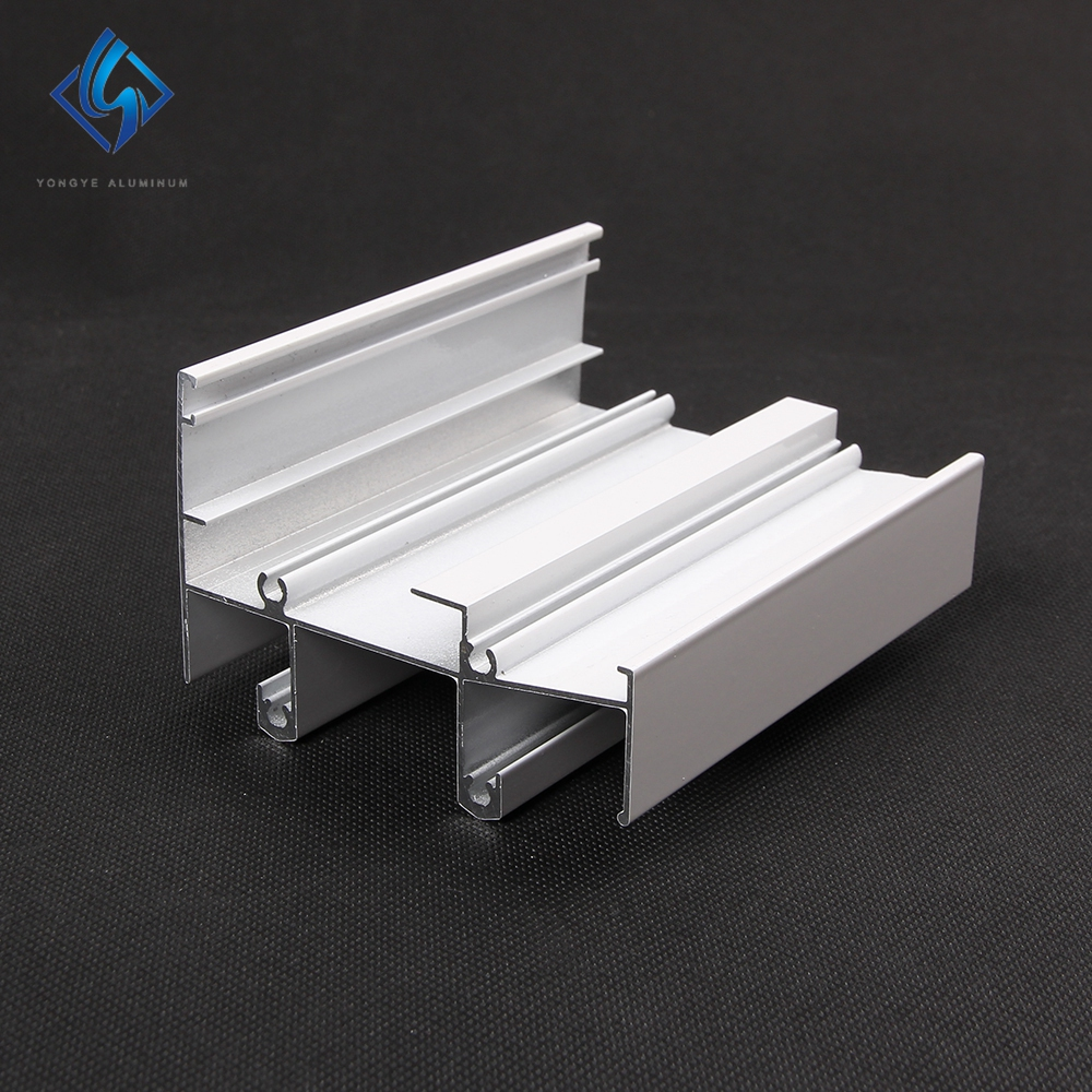 Aluminum Cameroon Aluminium Sliding Window Door Extruded  Track Profile