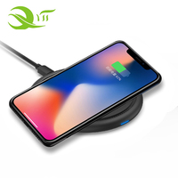 Excellent Quality 5w 7.5w 10w Mobile phones usb qi wireless charger for all smart phones