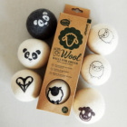 Wool Dryer Balls Eco-Friendly Nepal Made Natural Fabric Softener Handmade 100% Organic 6 Pack and Unscented