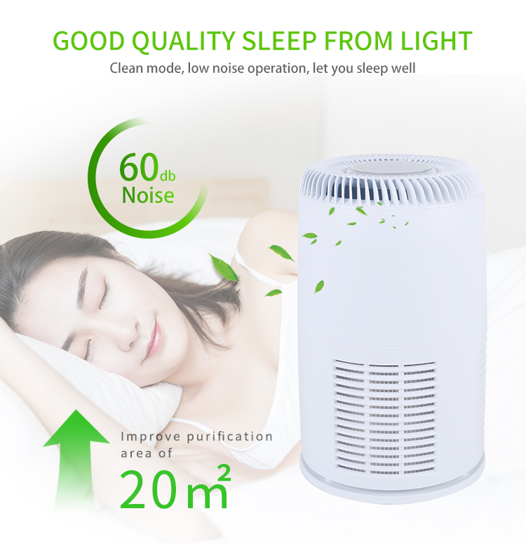 Popular Home Office Air Freshing Purifier Xiomi Air Purifier With Hepa Filtration