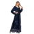 Zakiyyah 6184 Luxury high-end new arrival lace abaya hot stamping muslim dresses for women ladies