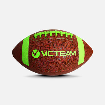 Good Customized Logo Size 9 7 6 5 3 Inflatable PU Leather American Football Rugby Ball For Training