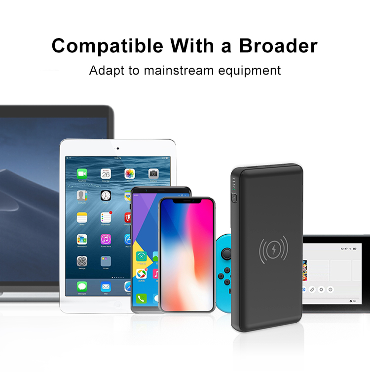 2020 New Trending High Capacity Portable Charger 20000mAh 18W PD 3.0 Quick Charge Power Bank with 10W Wireless Charge