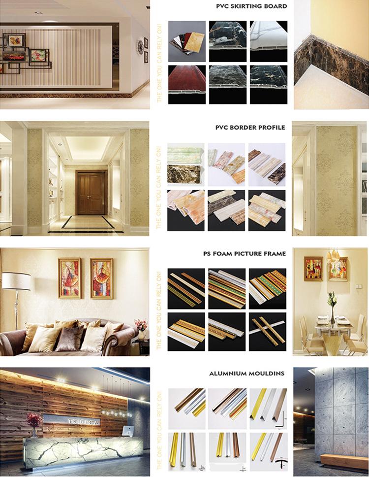 China Fabrikant Ontwerp Pvc Wall Panel Decoratieve Steen Panelen Decor Sheet Voor Thuis