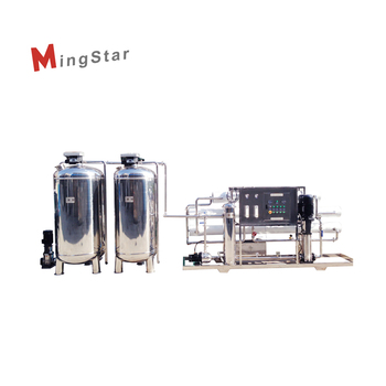 Compact Industrial Water Treatment Equipment With Reverse Osmosis Water System