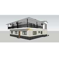 UPS 2020 new technology foam cement board prefab house plans