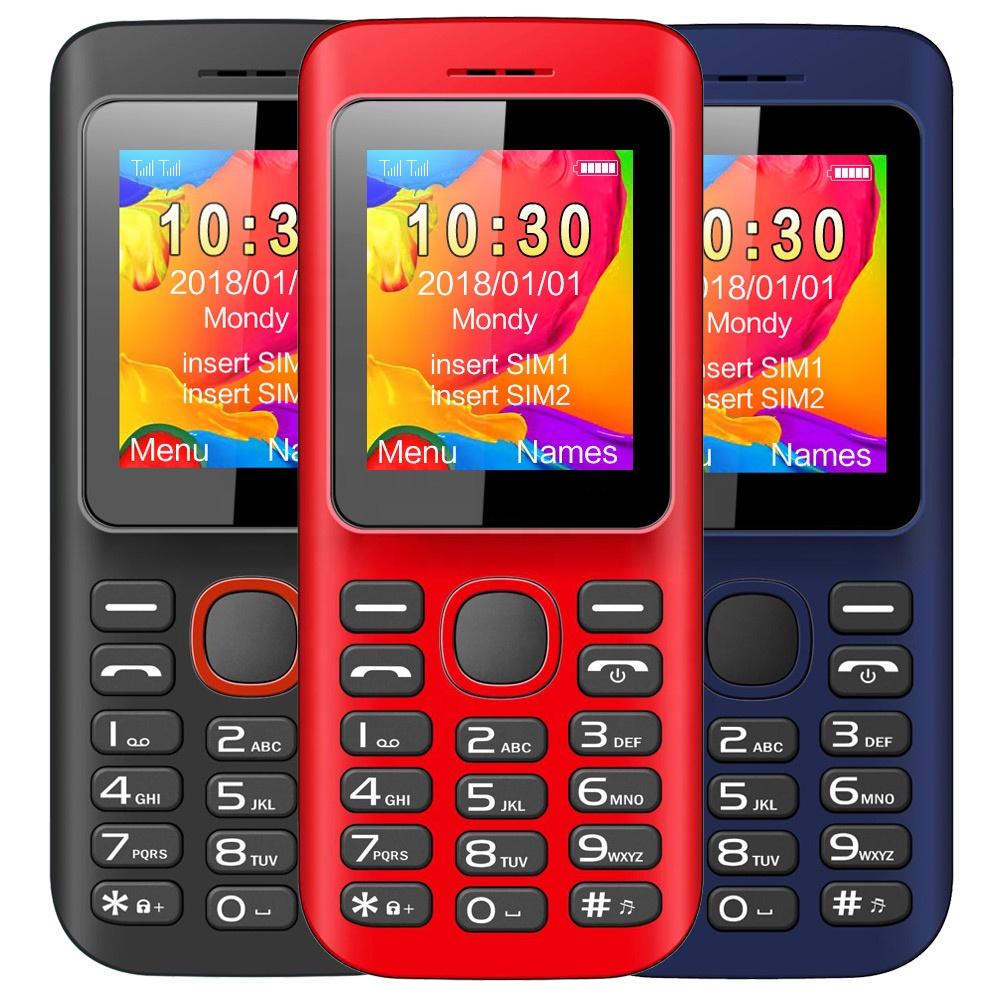 गर्म बिक्री मूल 1.8 इंच TFT स्क्रीन मोबाइल फोन के लिए सुविधा फोन H1-A