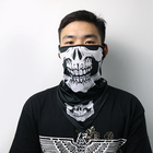 With Scarf Neck Gaiter Scarf Neck Gaiter Bandana With Ear Loops UV Protective Scarf Face Cover Balaclava For Men Women