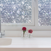 electric tint film self adhesive decorative window film static glass film