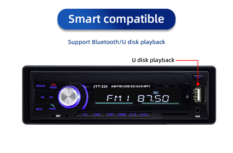 universal 1 Din car dvd player with BLUETOOTH,car multimedia entertainment USB