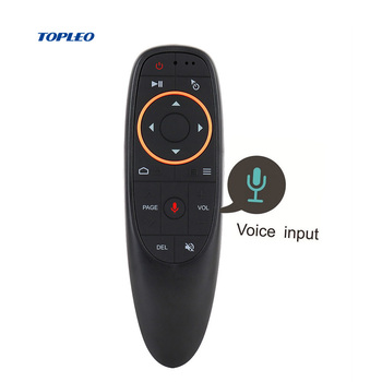 Topleo Custom Gyroscope G-sensor smart 2.4g usb ir universal wireless tv air mouse remote control