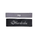 high density weaving name garment custom woven label with logo for textile products