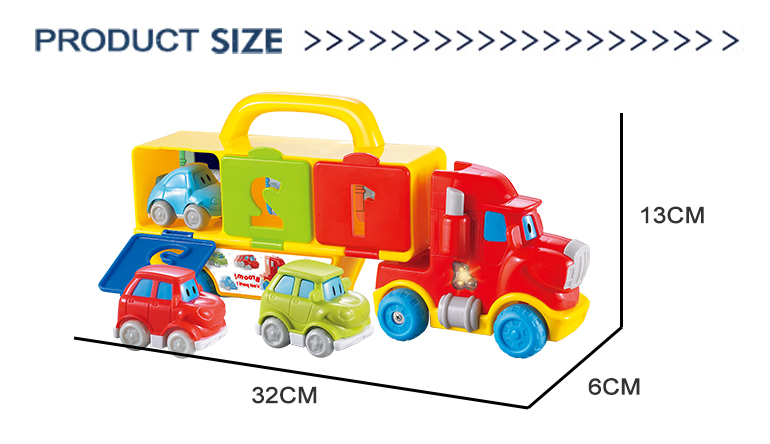Building colorful children plastic music battery operated educational car toy