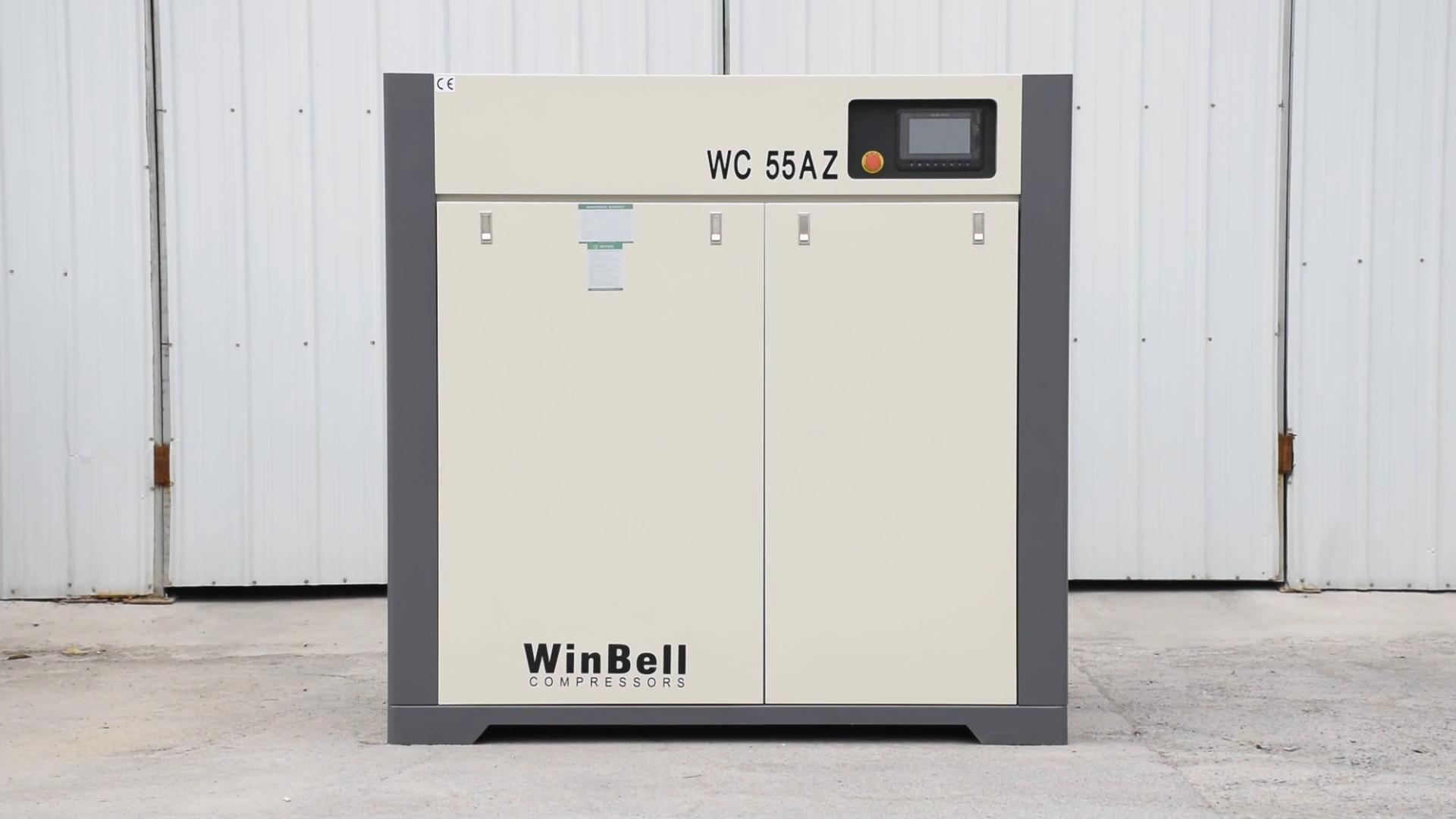 Compresor de aire de tornillo 11Kw General de equipos industriales